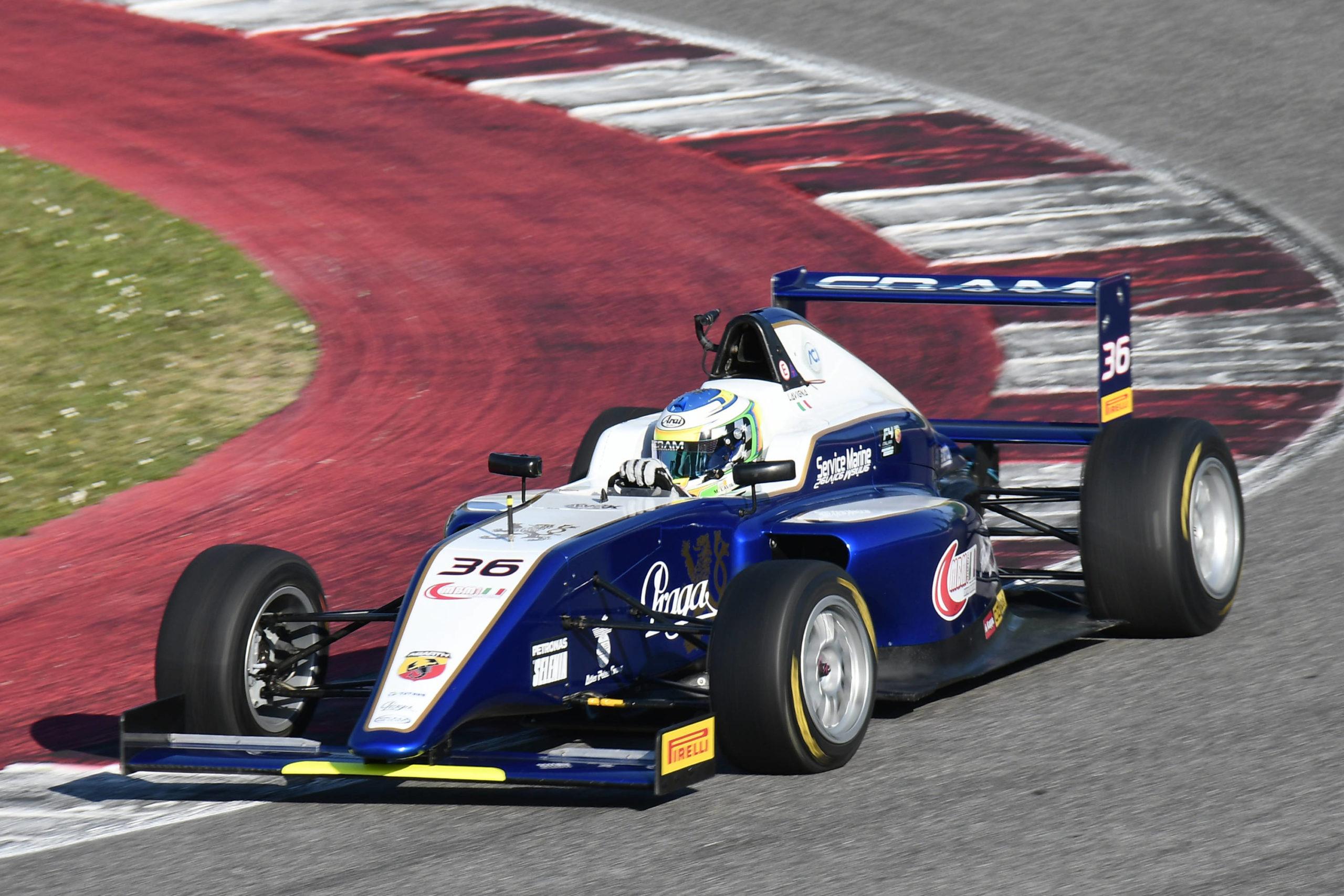 Formula 4 also sees the involvement of… Praga