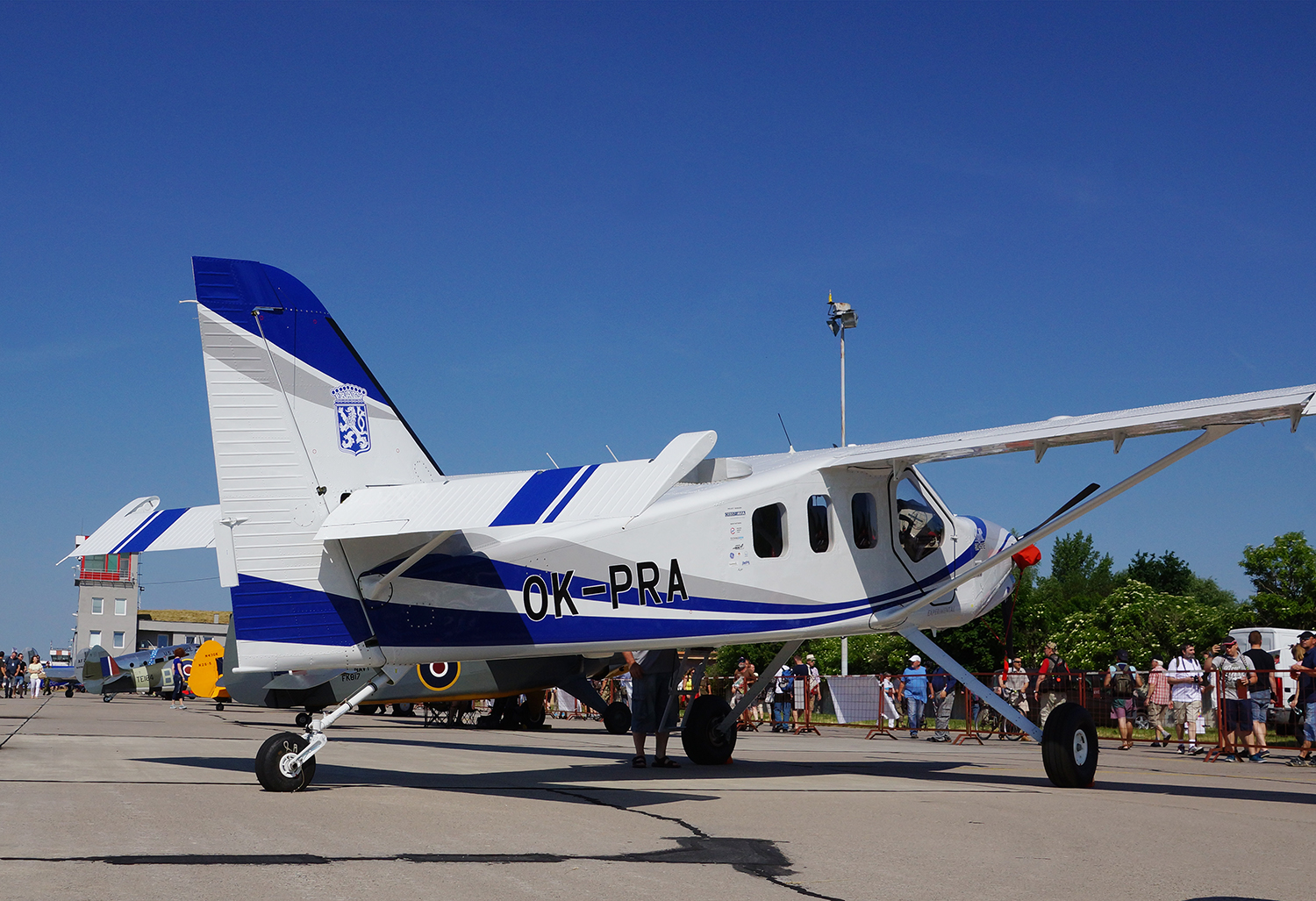 Praga Alfa premiere at Aviation Show