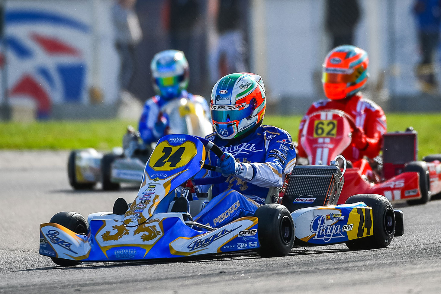 Praga and IPK at the top of the FIA Karting World Championship