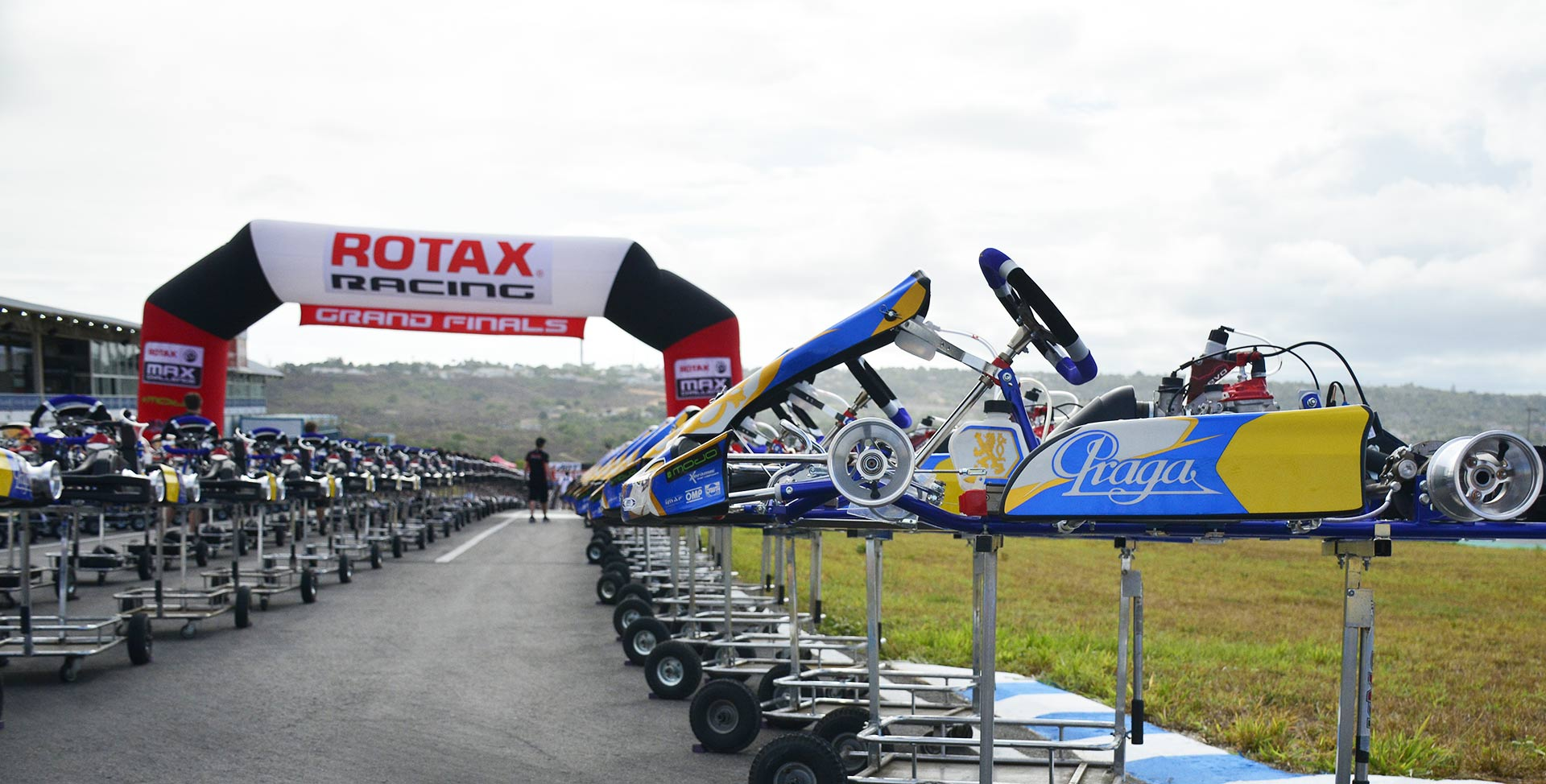 Praga Kart and Rotax. Together once again in Brazil