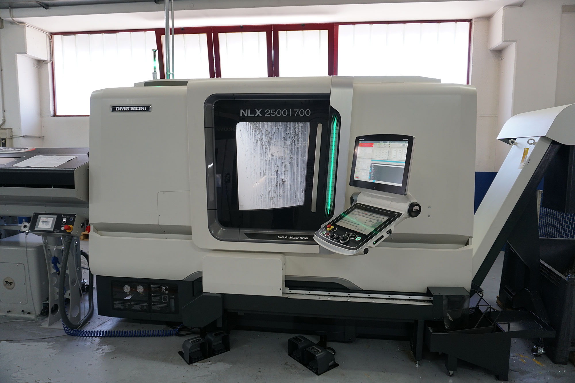 IPK, new numerical control lathe. Technology at the service of quality