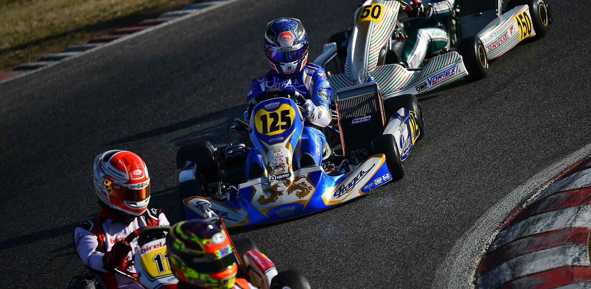 Massive presence of IPKarting chassis at Lonato for the WSK Super Master Series