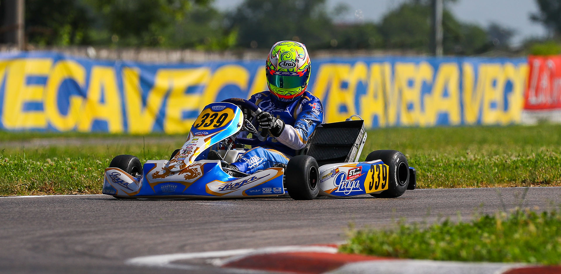 3 drivers in the top ten of the European Championship in Sarno