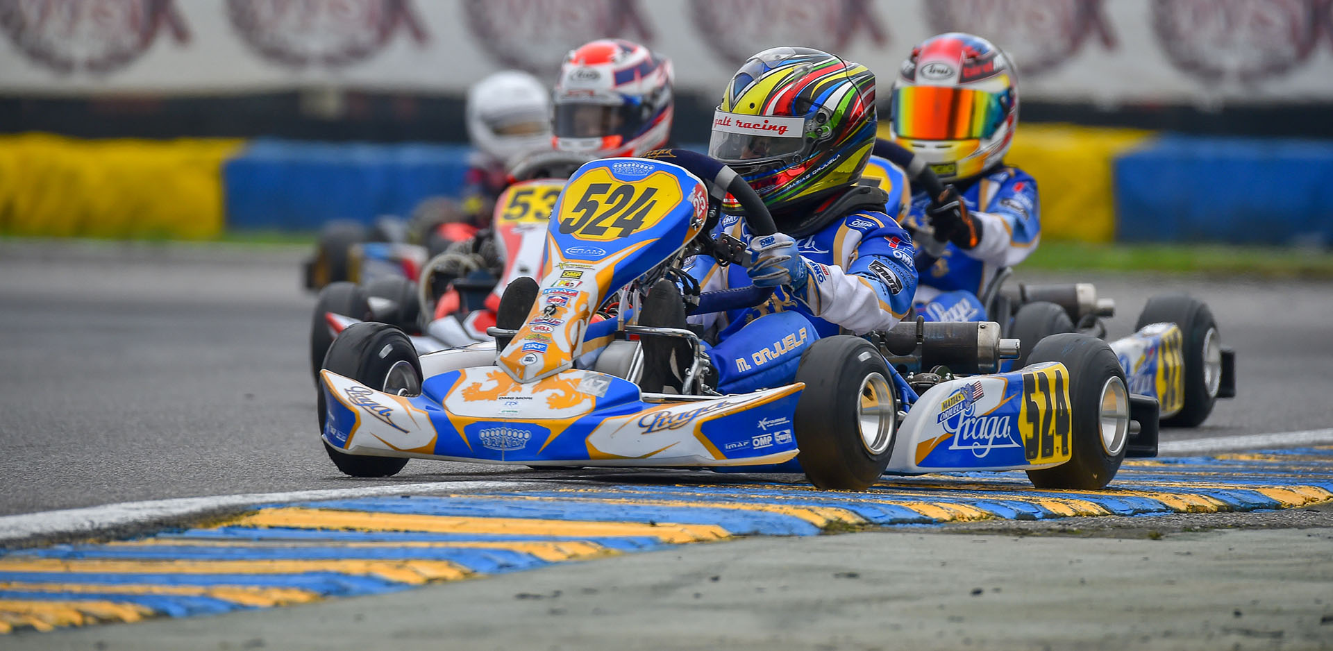 Pole position and the podium in round 2 of the WSK Open Cup