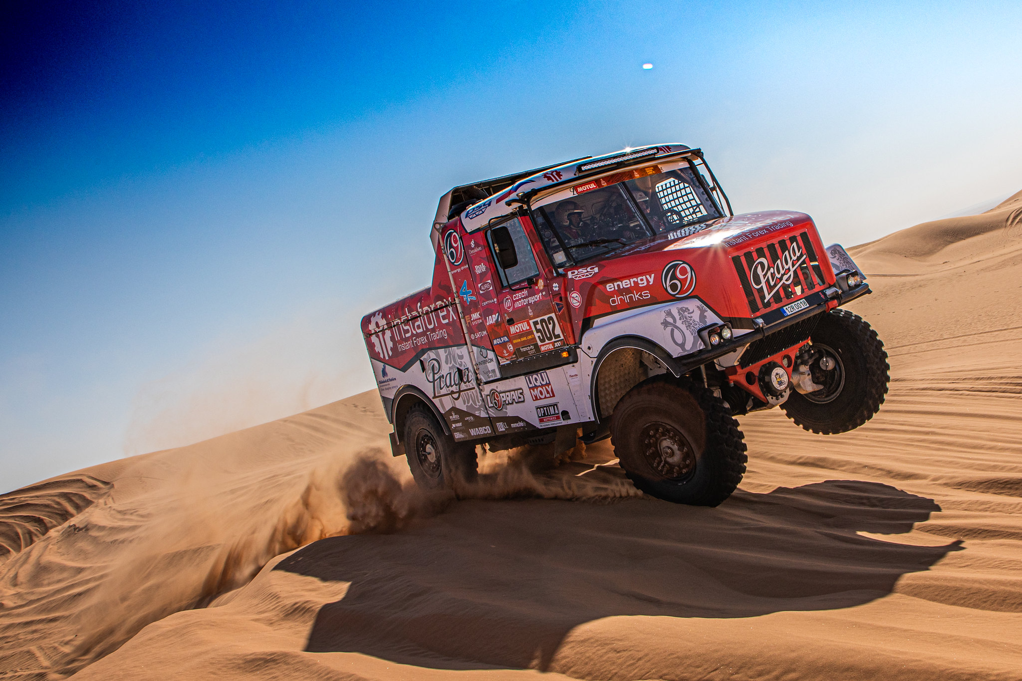 Praga | Loprais ends Dakar with third place in Qiddiya Grand Prix
