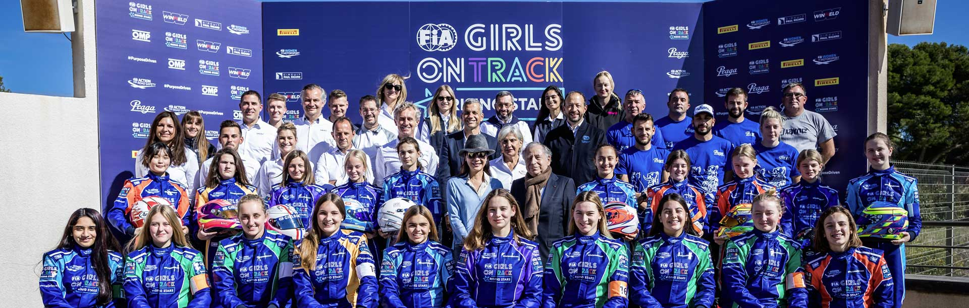 FIA Girls on Track - Rising Stars kicks off together with Praga Kart