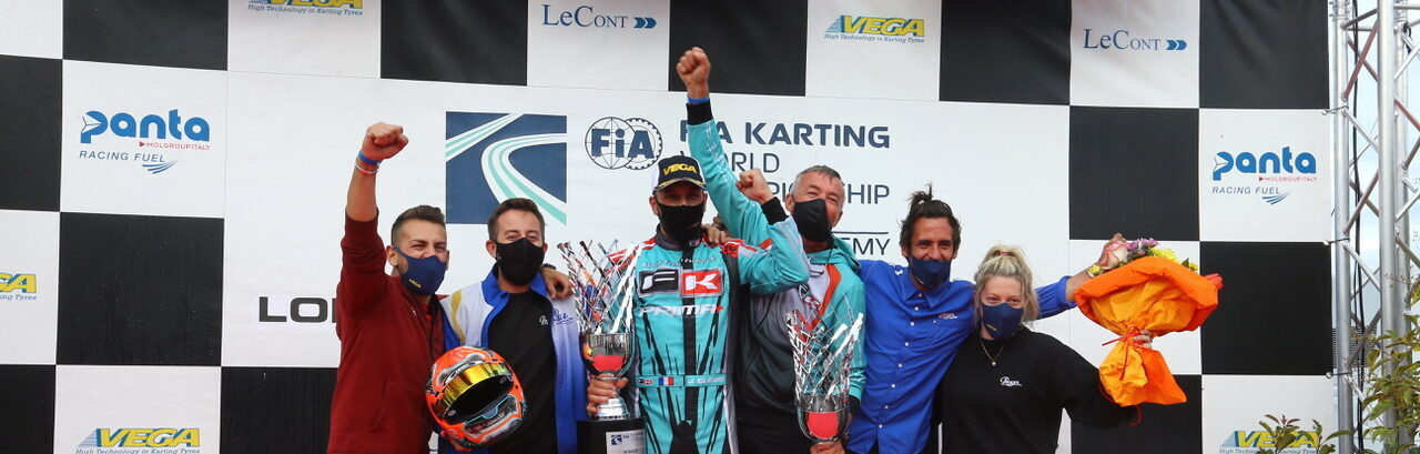 FORMULA K IS THE KZ WORLD CHAMPION WITH JEREMY IGLESIAS
