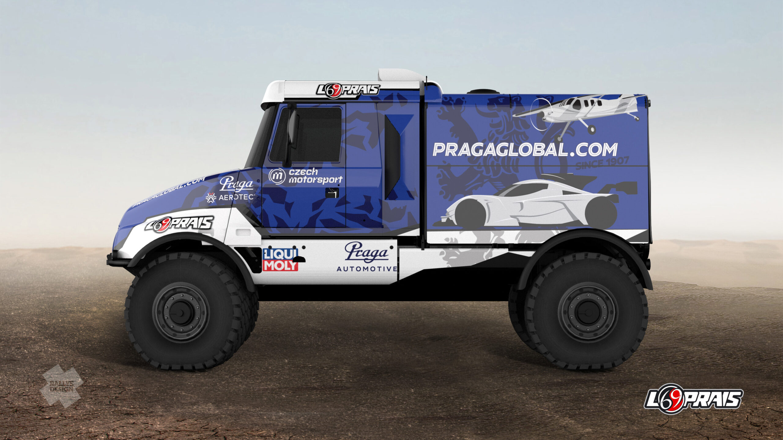 Praga | Instaforex Loprais Praga Team to race at Dakar Rally 2021 with two trucks