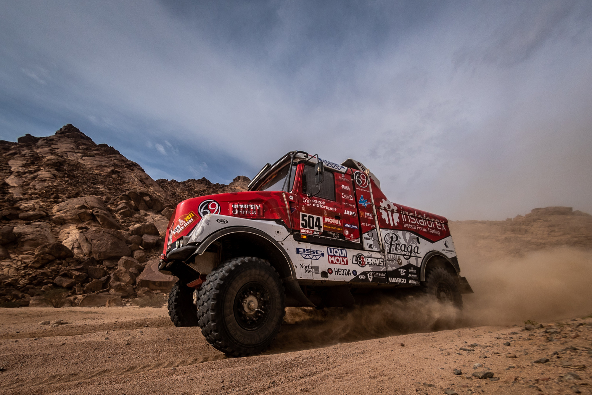 Dakar 2021: Aleš Loprais fought until last kilometres