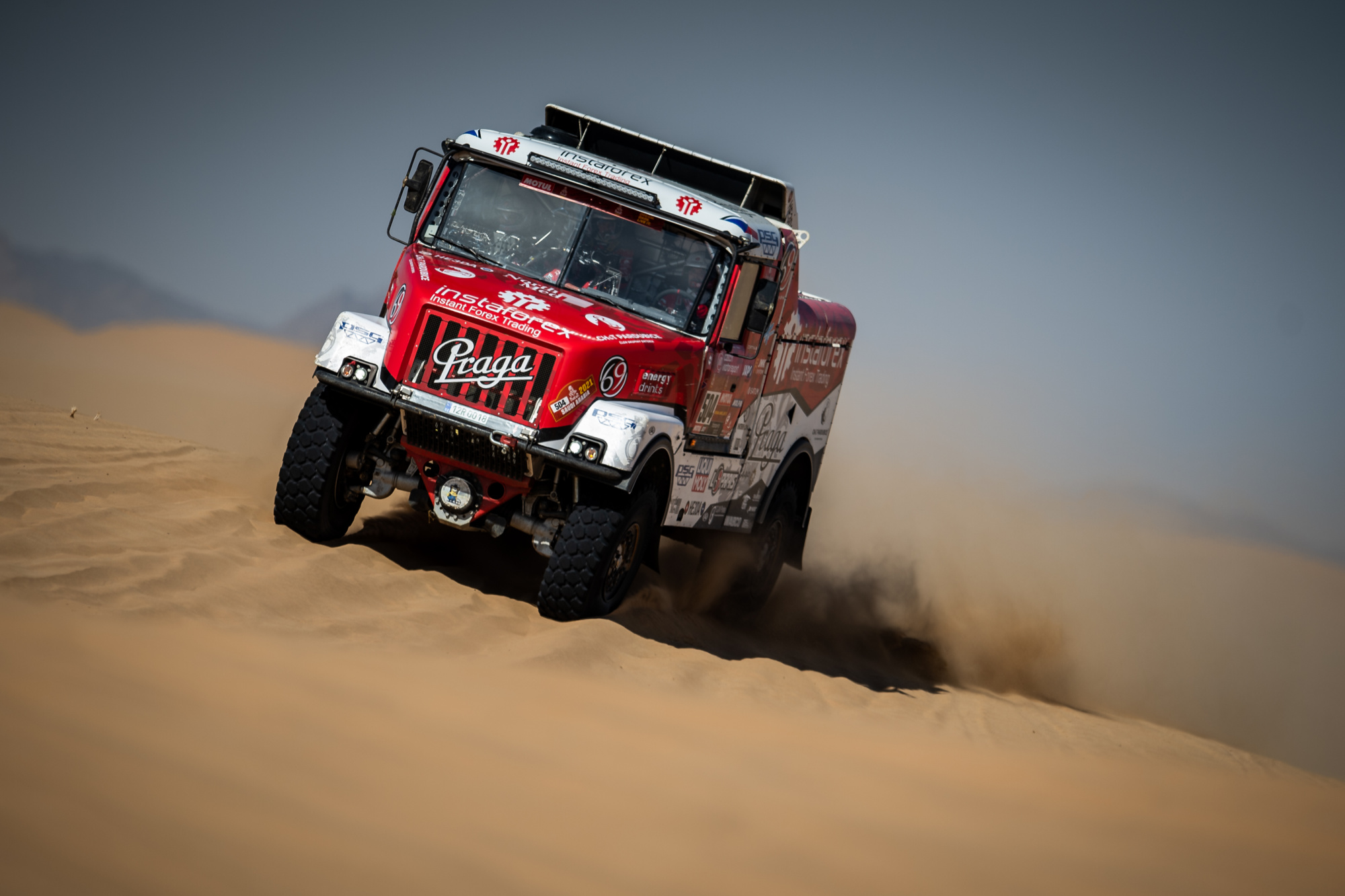 Dakar 2021: Loprais' efforts slowed down by puncture