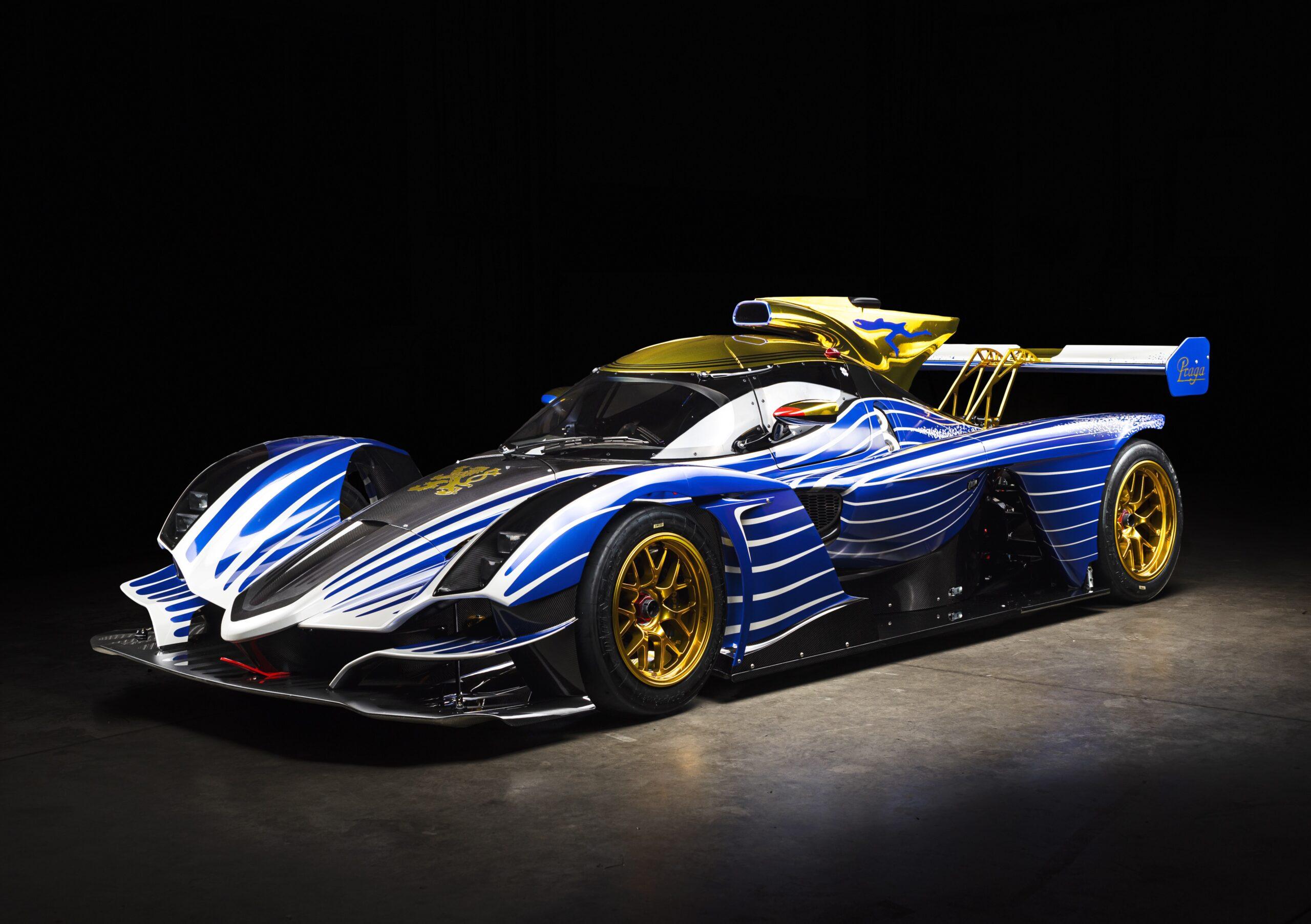 FRANK STEPHENSON DESIGN AND PRAGA CARS UNVEIL BESPOKE R1 RACING LIVERY