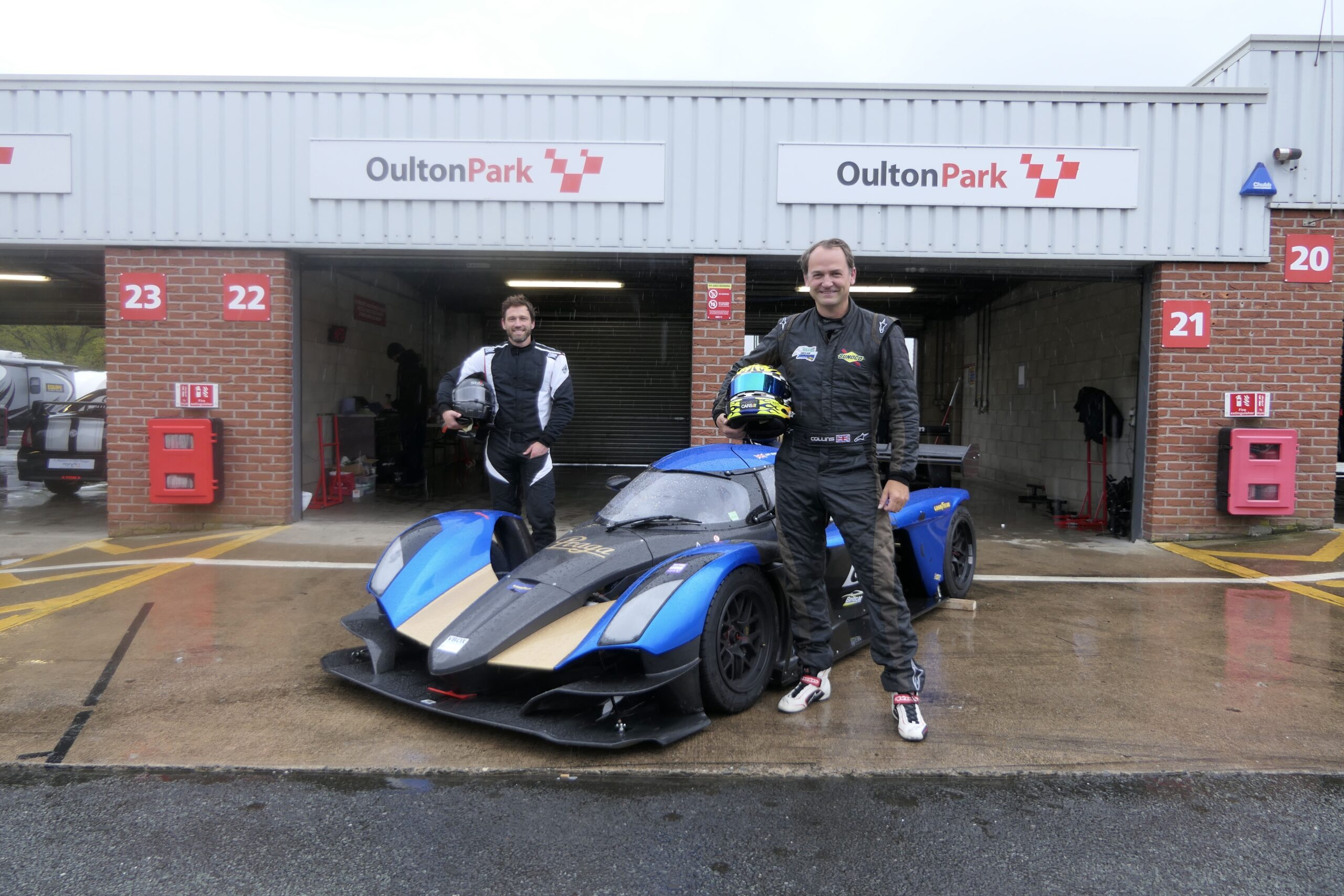 Former BBC Top Gear STIG Ben Collins TEST DRIVES NEW PRAGA R1