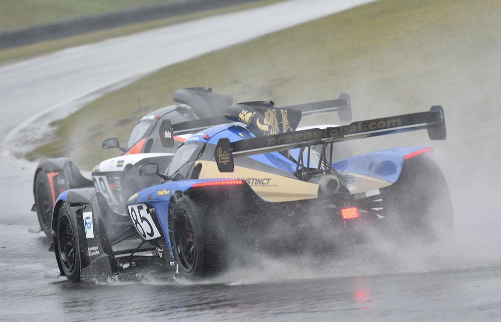 Praga R1 customers dominate as debutant Guest Drivers impress at soaking wet Snett