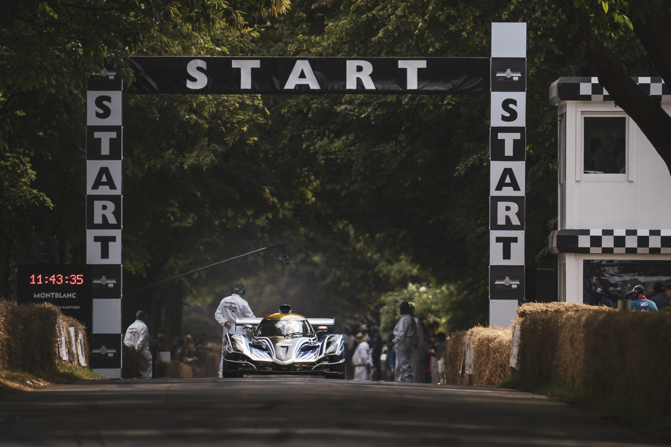 Frank Stephenson-liveried Praga R1 stands out at the 2021 Goodwood Festival of Speed