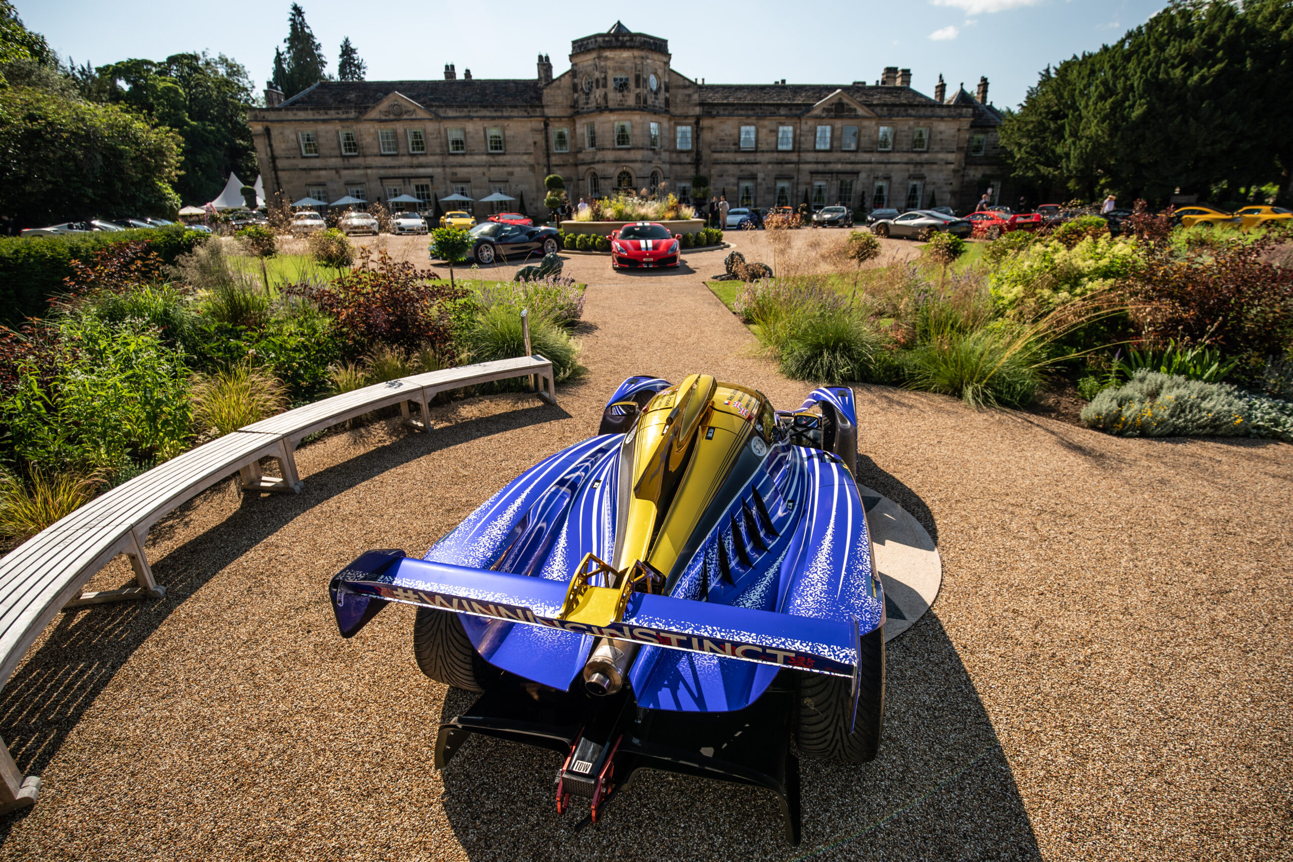 Praga Cars was privileged to attend SCD's grand summer social event at the amazing Grantley Hall