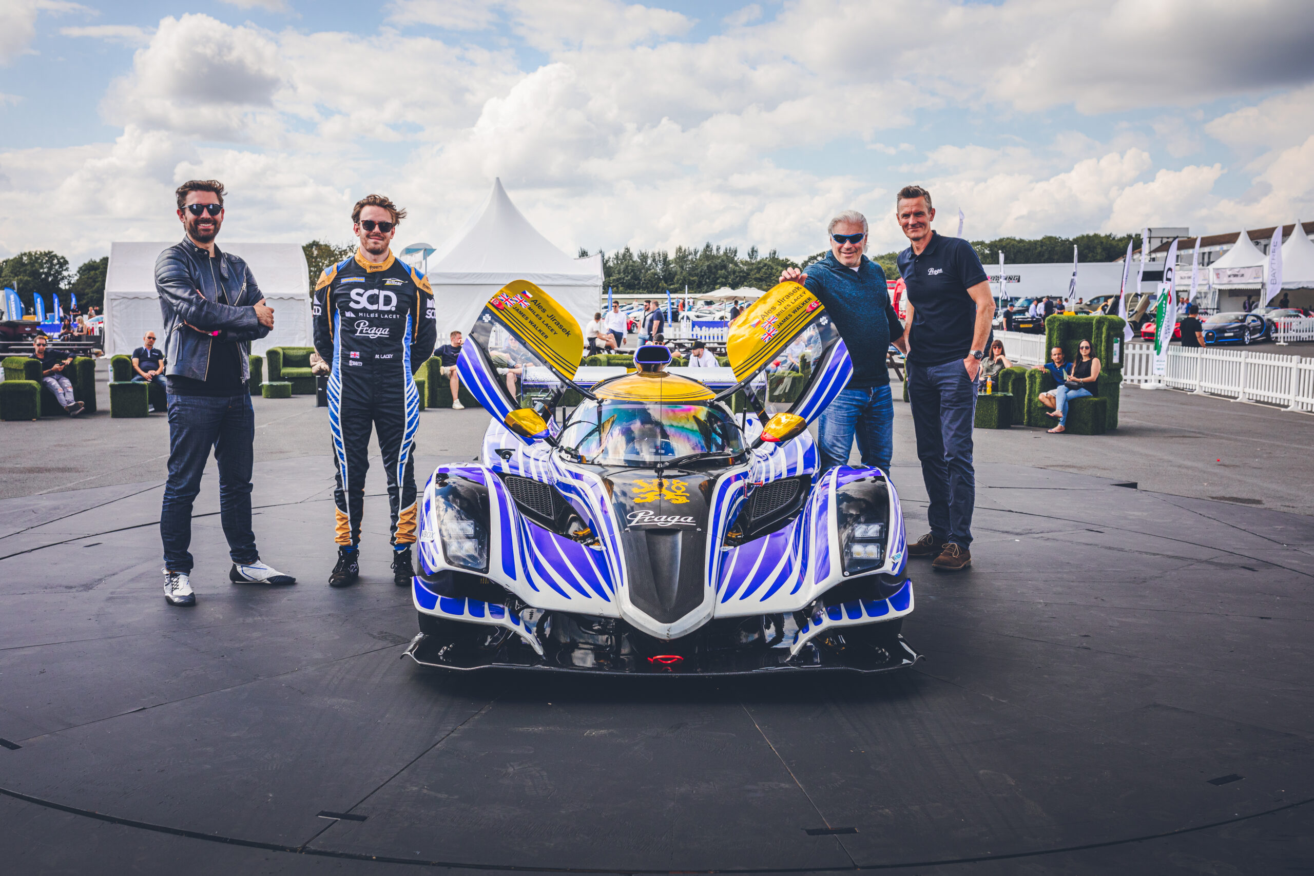 Praga | Praga Stars at Supercar Driver Michelin Secret Meet