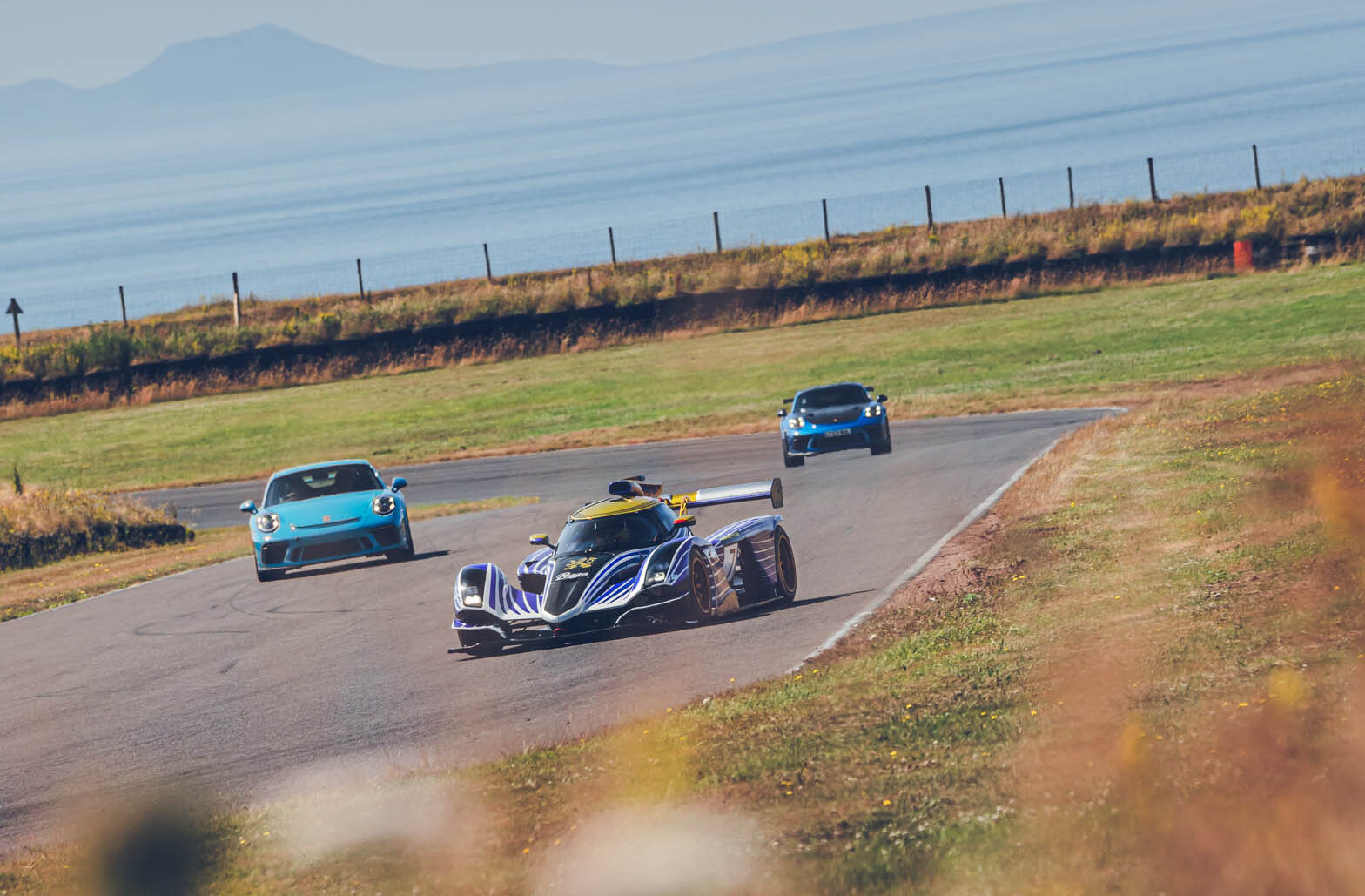 Praga | R1 joins 911s as SCD invites Praga to its Anglesey track day