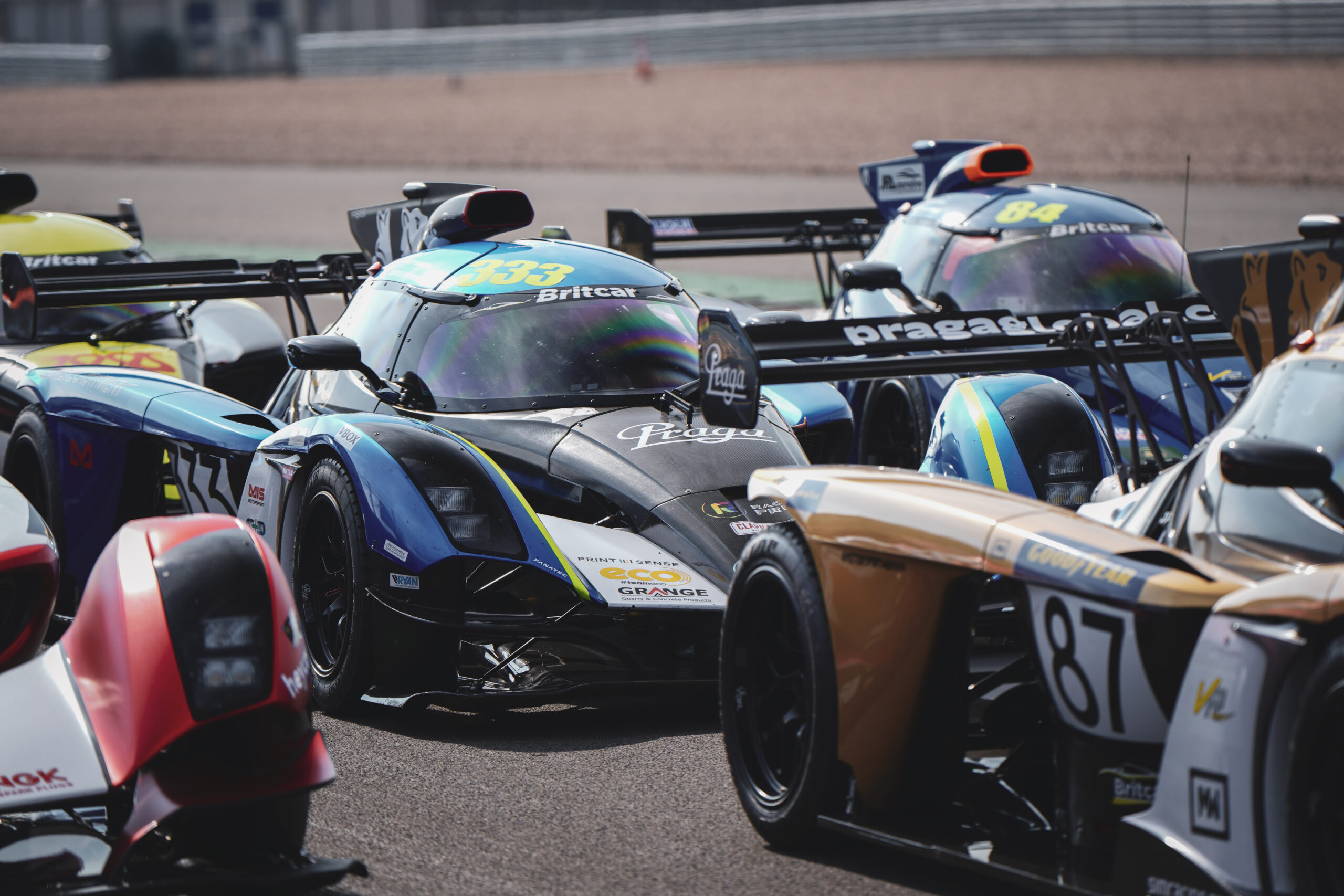 Praga | Four used R1s for sale: ten careful owners - professional racing drivers, TV stars, sim racers, and YouTubers